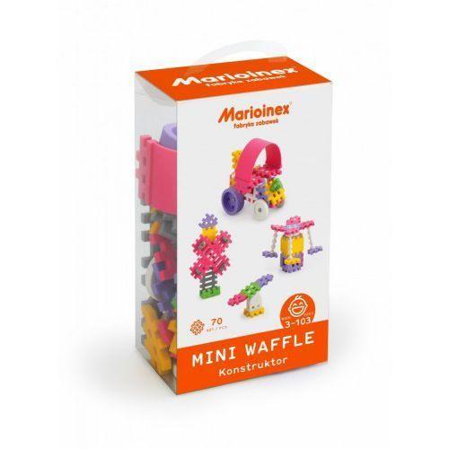 Marioinex Klocki waffle mini 70 sztuk dziewczynka - DARMOWA DOSTAWA OD 199 ZŁ!!!