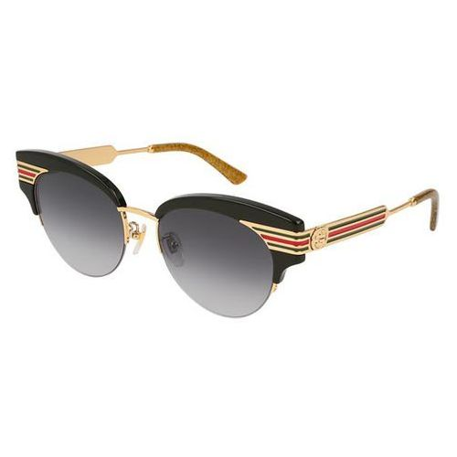 Okulary Słoneczne Gucci GG 0283S 001, kolor żółty