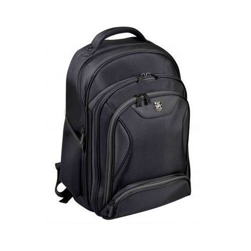 "Port Designs Manhattan Fits up to size 17.3 "", Black, Shoulder strap, Backpack,"