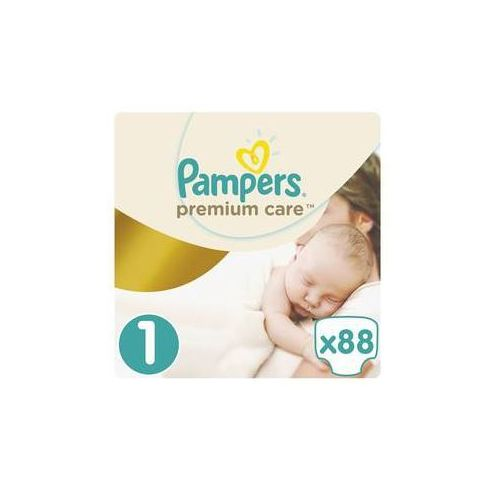 Pieluszki premium care newborn rozmiar 1, 88 szt. marki Pampers