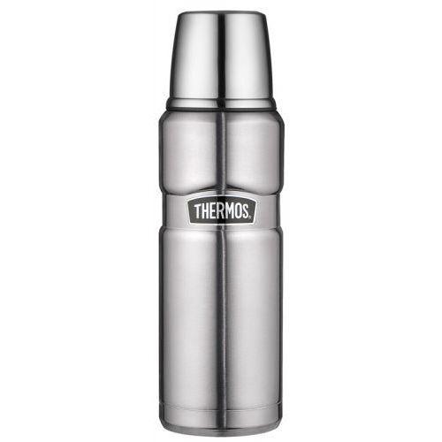 Thermos - king - termos metalowy - kolor stalowy - 0,47l marki Contigo