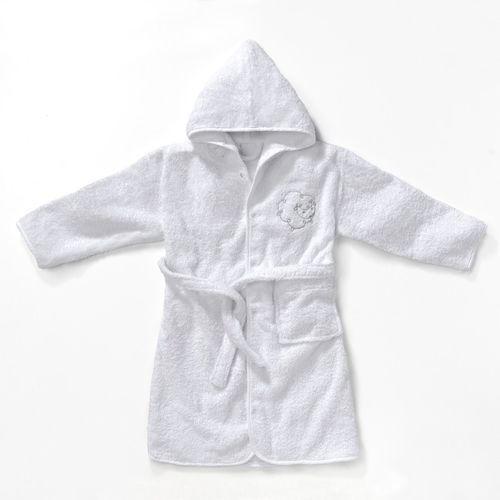 Dziecięcy lub niemowlęcy szlafrok z tkaniny frotte 420g/m², betsie marki R mini
