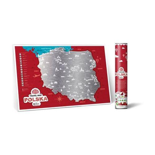 Mapa Zdrapka POLSKA, map_zdr_poland