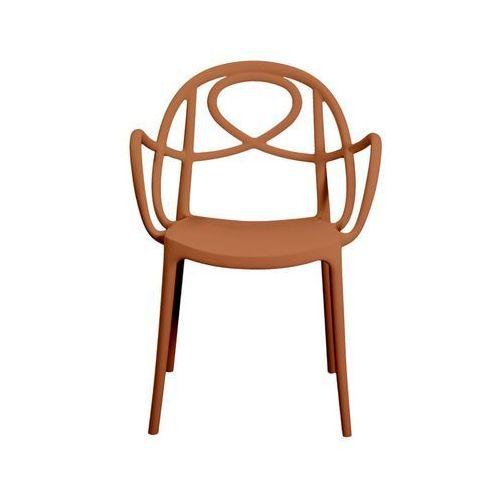 Krzesło ogrodowe Green Etoile P pomarańczowe, GEP-pomarancz