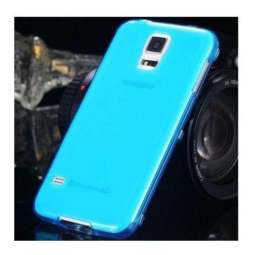 | samsung galaxy s5 / s5 neo | super cienkie etui niebieskie marki Ultra slim