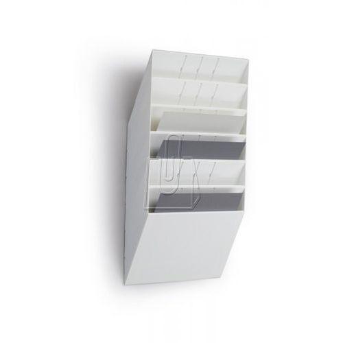 Zestaw sześciu poziomych pojemników Durable Flexiboxx A4 przeźroczysty 170978540 - sprawdź w wybranym sklepie