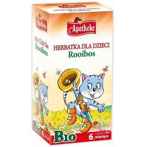 Apotheke Herbata dla dzieci rooibos bio, ekspresowa 30g - OKAZJE