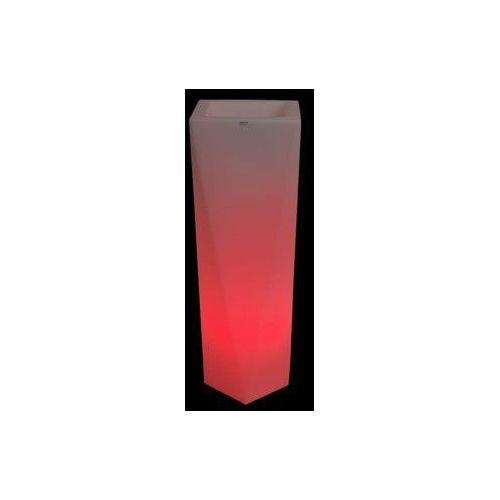 Decolovin Donica podświetlana rossa75 cm led rgb z pilotem