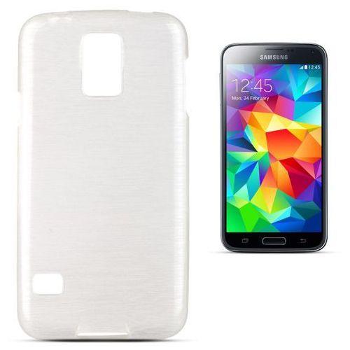 """""""Jelly Brush Samsung Galaxy S5 / Galaxy S5 Neo"""" (White), kolor biały"""