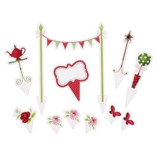 - ozdoby tortów tea party – zestaw 11 elementów marki Kitchen craft