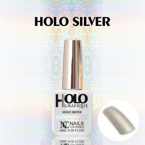 Nails Company HOLOGRAFIQUE HOLO - kolor SILVER 6ml