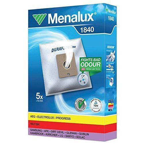 Worki do odkurzacza MENALUX 1840 / 5 szt / 1 filtr