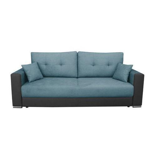 """Sofa """"MEDUZA"""" rozkładana - turkusowy, kolor niebieski"""