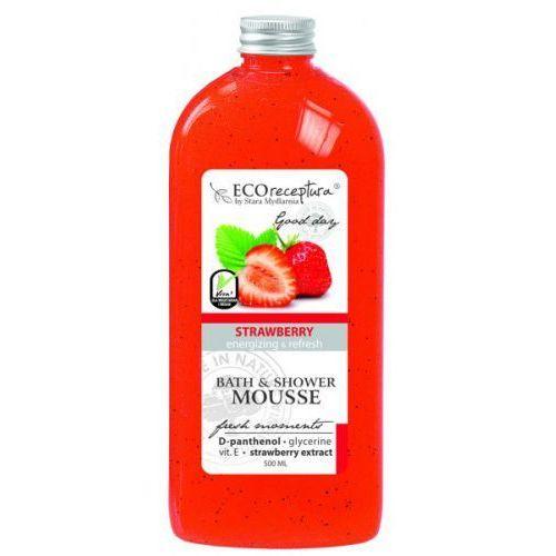 ECO RECEPTURA Fresh Strawberry - mus do kąpieli 500ml karafka, 27762