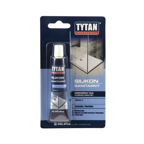 Silikon SANITARNY 20 ml Bezbarwny TYTAN (5903518001383)