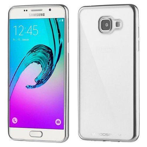 Etui Mercury Goospery Ring 2 Case żelowe Samsung Galaxy A5 2016 A510 srebrne (8806174372750)