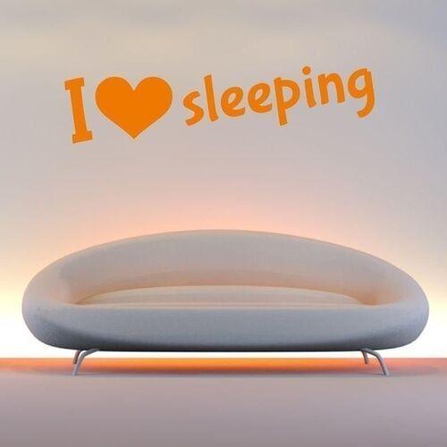 Naklejka 03x 06 i love sleeping 1731 marki Wally - piękno dekoracji