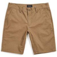 Brixton Szorty - toil ii hemmed short dark khaki (dkkhk) rozmiar: 32