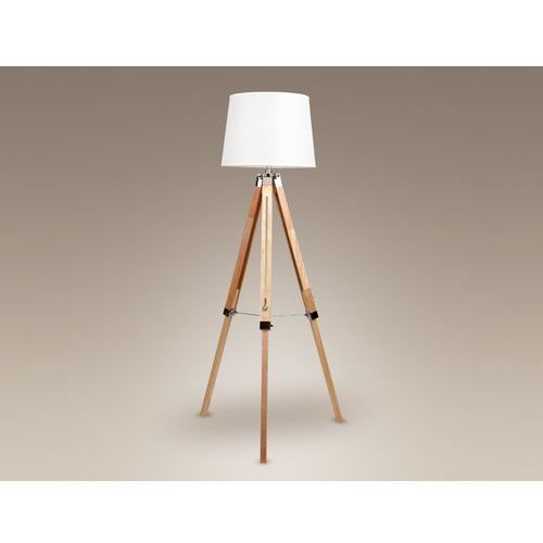MaxLight Lampa podłogowa Tres - F0031, kolor drewno