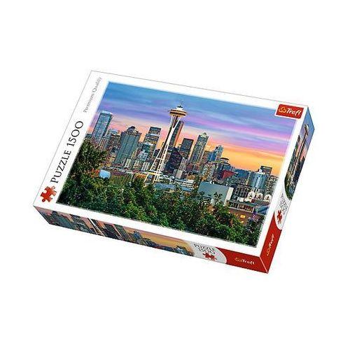 Puzzle 1500 elementów. Space Needle, Seattle, USA, 5900511261356 (6018137)