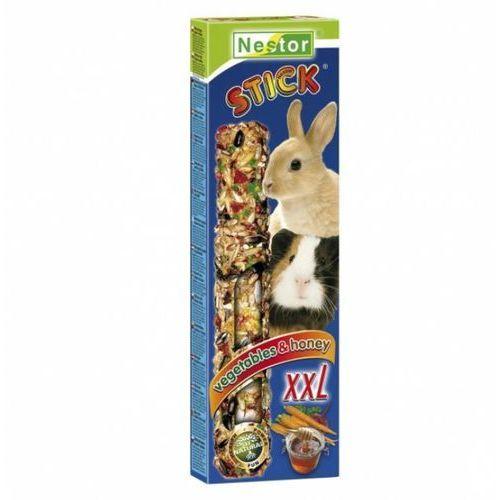 kolba xxl z miodem i warzywami dla dużych gryzoni i królików 2szt., marki Nestor