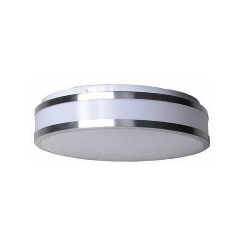Krislamp Inez 630-03 plafon lampa sufitowa 3x20W E27 biały/srebrny