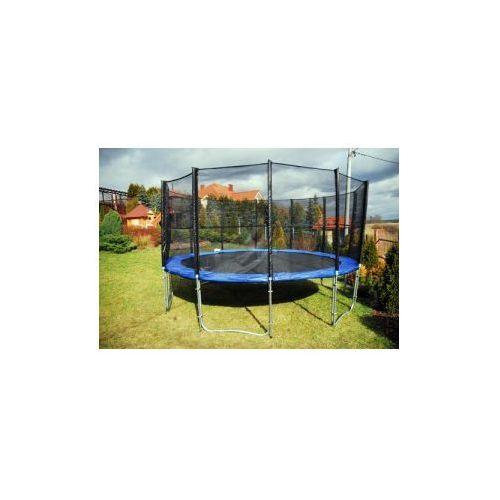 244 cm - trampolina ogrodowa z siatką zabezpieczającą marki Belg