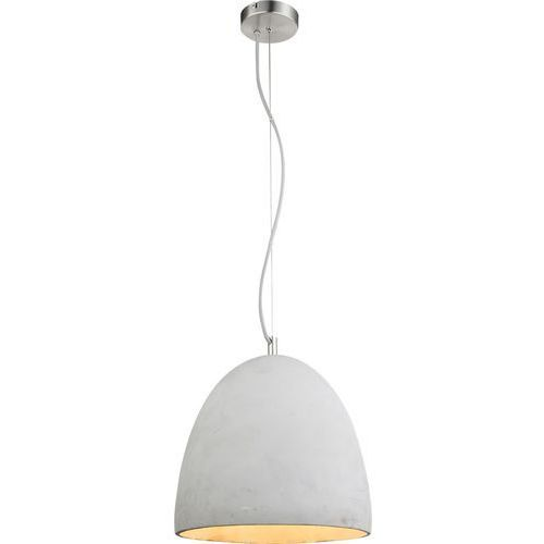 Lampa wisząca Globo Safa 15010 lampa sufitowa zwis 1x60W E27 nikiel mat / szary (9007371342075)