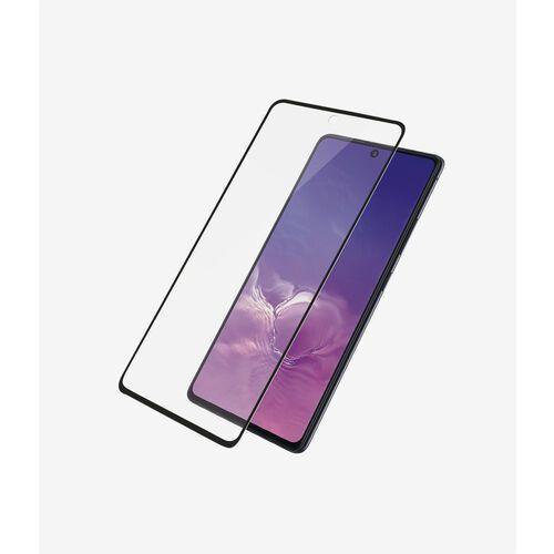 PanzerGlass szkło ochronne Edge-to-Edge dla Samsung Galaxy S10 Lite, czarne (7210) (5711724072109)