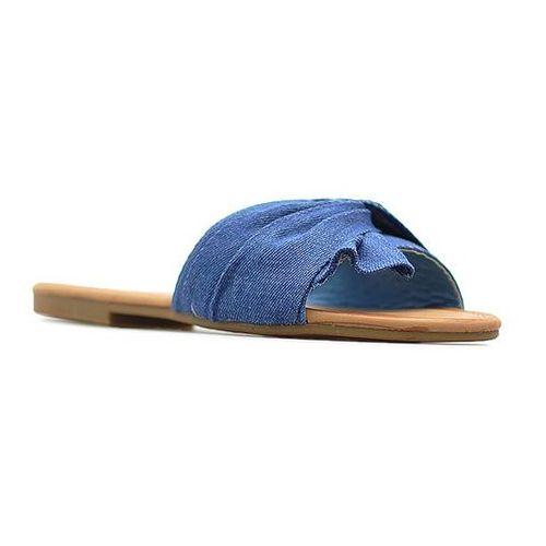 Vices Klapki 6124-13 niebieskie jeans