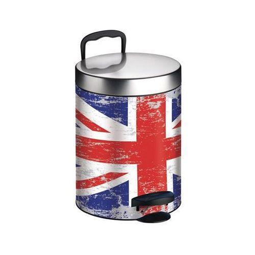 Kosz na śmieci MELICONI New Line 5L Union Jack, 14005523601BA