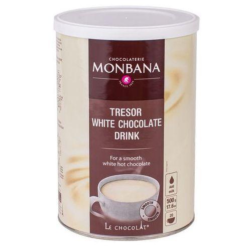 Biała Czekolada na gorąco Monbana Tresor 500g z kategorii Kakao