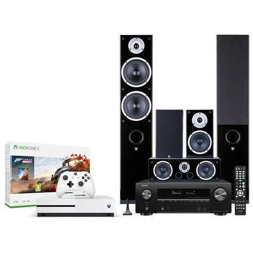 avr-x1500h + raptor 7/1/vokal + xbox -50% - konsola xbox z zestawem kina domowego | raty 0% marki Denon