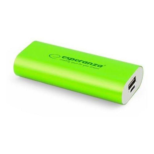 Ładowarka akumulator ESPERANZA POWER BANK HADRON 4400mAh - zielony