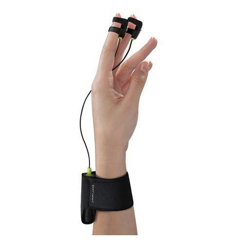 Stymulator na palce - hello touch finger vibrator x black marki Jimmyjane