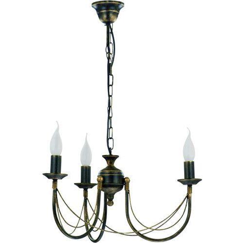 Nowodvorski Lampa wisząca ares iii 204 zwis oprawa 3x60w e14 stal (5903139204996)