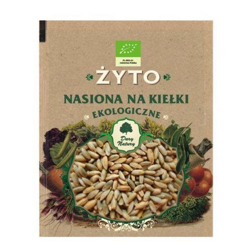 Ekologiczne nasiona na kiełki - Żyto 50g Dary Natury (5902741005410)