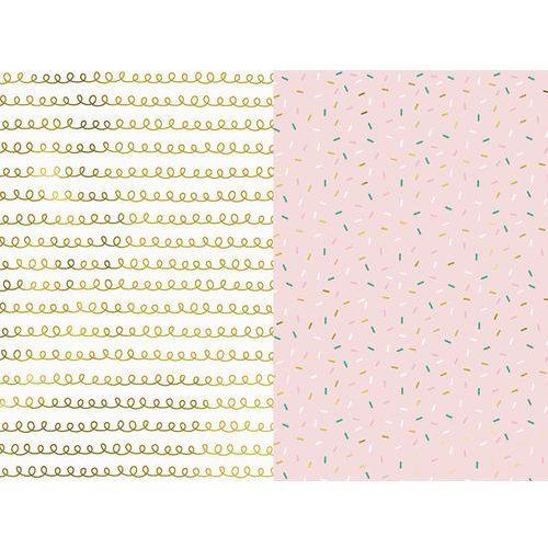 Papier do pakowania prezentów, mix - 70 x 200 cm - 2 szt. marki Party deco