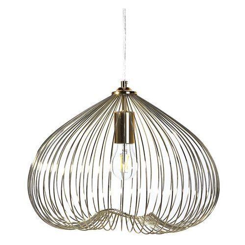 Lampa wisząca złota metal TORDINO