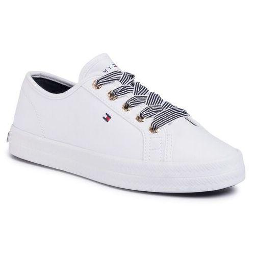 Sneakersy TOMMY HILFIGER - Essential Nautical Sneaker FW0FW04848 White YBS, w 7 rozmiarach