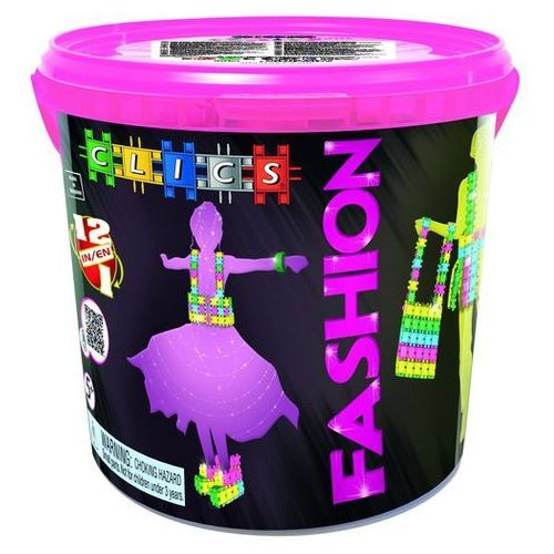 CD005 Klocki CLICS Glitter FASHION Drum
