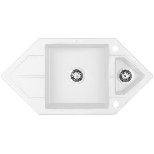 Deante Zlewozmywak hexon zqpa653 alabaster