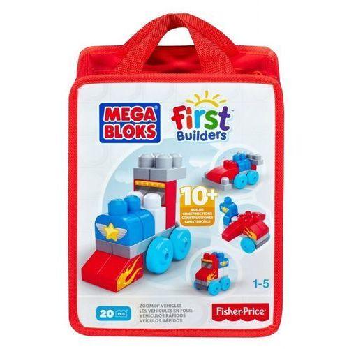 Mega Bloks Fisrt Builders 20 EL. Torba Pojazdy