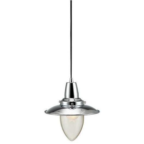 Lampa wisząca zwis Markslojd Stromstad 1X40W E27 chrom / przezroczysty 105246