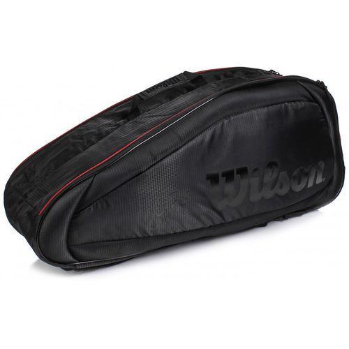 Wilson fed team 6pack black/red
