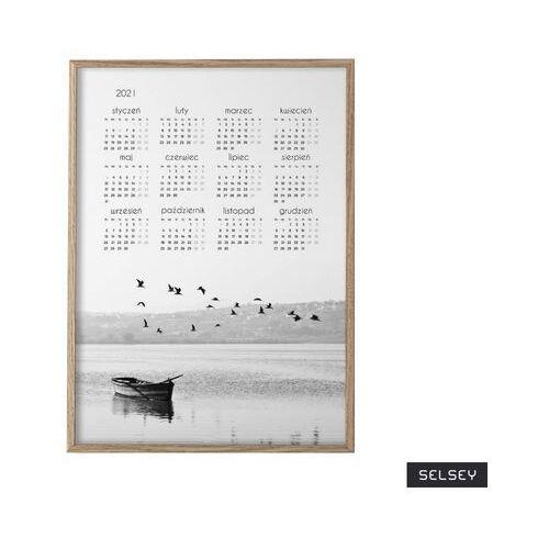 Selsey kalendarz oliverro 50x70 cm z wyborem ramy