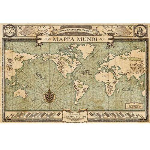 Fantastyczne zwierzęta i jak je znaleźć Mappa Mundi - plakat (5050574338929)