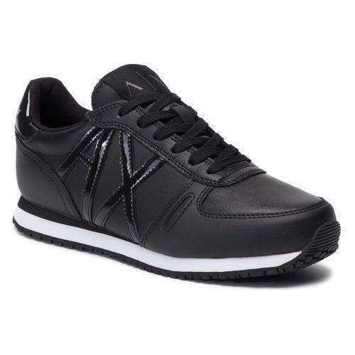 Sneakersy ARMANI EXCHANGE - XDX031 XV160 K001 Black/Black, kolor czarny