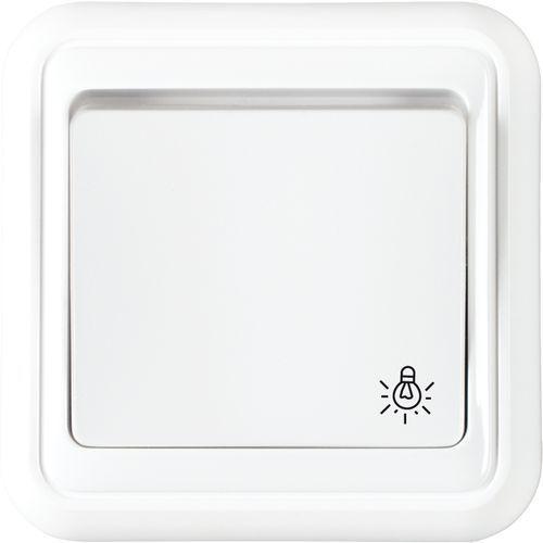 Wyłącznik światło (zwierny) biały LIZA z kategorii Włączniki