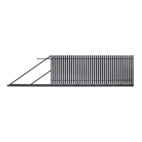 Brama przesuwna Polbram Steel Group Daria 2 400 x 150 cm lewa